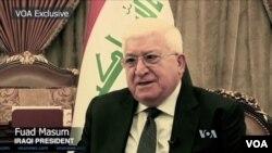İraq prezidenti Fuad Məsum