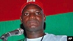 Mfuka Muzemba, líder da JURA - juventude da UNITA