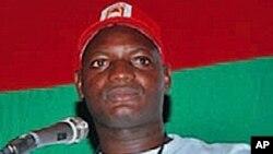 Mfuka Muzemba, líder suspenso da JURA - juventude da UNITA