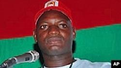 Mfuka Muzemba, líder da JURA