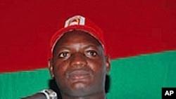 Mfuka Muzemba, líder da JURA, juventude da UNITA, é um dos manifestantes absolvidos pelo Tribunal