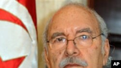 Fouad Mebazaa, President Interimaire de la Tunisie, 15 Jan 2011