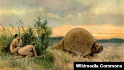 Manusia Lithic atau Paleo-Indians dikenal sebagai manusia pertama yang menghuni benua Amerika, yang datang melalui migrasi melintasi Siberia dan Alaska sekitar 15 ribu tahun lalu.