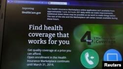 La página web healthcare.gov en donde los usuarios pueden acudir para encontrar cobertura médica, volvió a sufrir fallas debido a la cantidad de usuarios que buscan inscribirse a última hora.
