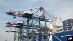 Cảng Thị Vải - Cái Mép ở Bà Rịa - Vũng Tàu
