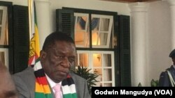 Shugaban Zimbabwe, Emmerson Mnangagwa