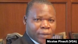 Dieudonné Nzapalainga à Washington, le 18 mars 2014