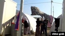 Бегалски камп во Бадра, северен Ирак