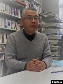 日本宇都宫大学地域设计学教授中村佑司 (照片提供: 中村佑司 )