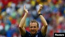 Juergen Klinsmann, sélectionneur des Etats-Unis lors du mondial 2014.