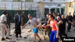 受傷人員被救出