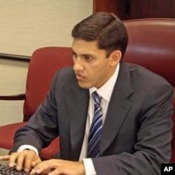 美国国际开发署署长拉吉夫.沙赫2010年初刚上任时