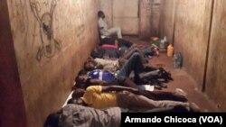 Activistas e sobas presos em Saurimo, Lunda Sul. Passaram a noite na cadeia de Saurimo e foram soltos no dia seguinte. Angola