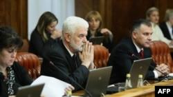 Premijer Srbije Mirko Cvetković na današnjoj sednici vlade