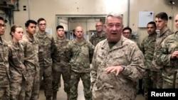 ژنرال کنث مکنزی، رئیس ستاد فرماندهی مرکزی آمریکا موسوم به سنتکام