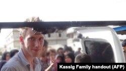 Abdul-Rahman Kassig, le travailleur humanitaire converti à l'Islam qui a été décapité par l'Etat islamique (AFP)