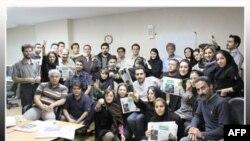 تعدادی از روزنامه نگاران ایران- آرشیو
