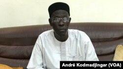 Ahmat Mahamat Hassan, constitutionnaliste à N'Djamena, le 18 juin 2019.