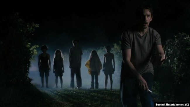 Самым пугающим фильмом был назван «Синистер» 2012 года