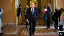 Ông McConnell sẽ trở thành lãnh đạo phe đa số Thượng viện khi Quốc hội mới nghị họp vào tháng 1.