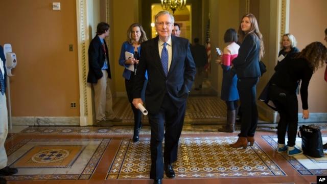 Thượng nghị sĩ Cộng hòa Mitch McConnell, người sắp tiếp nhận vai trò lãnh đạo khối đa số Thượng viện