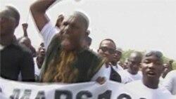 Demonstrators take to the streets of Mali's capital