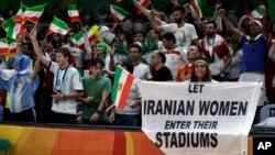 یکی از کنشگران حقوق زنان در بازیهای المپیک، خواستار حضور زنان ایرانی در ورزشگاهها شده است