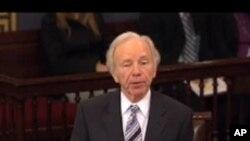 결의안을 상정한 조셉 리버만 의원