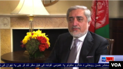 Abdullah Abdullah interview in UNGA