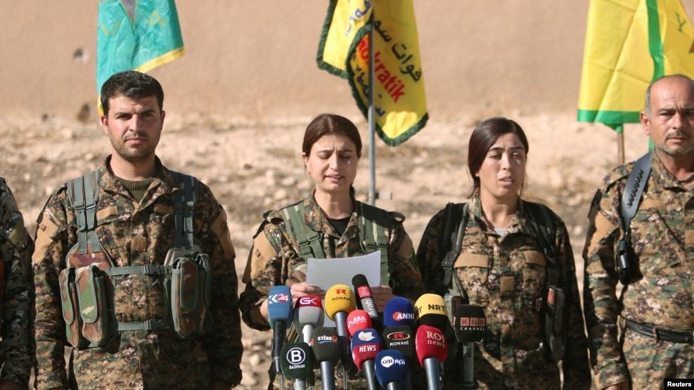 Syrian Democratic Forces (SDF) ညြန္႔ေပါင္းအဖြဲ႔