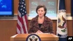 امریکی محکمہ خارجہ کی ترجمان وکٹوریا نولینڈ