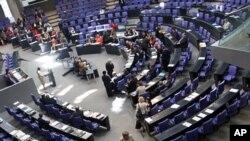 9月29号德国议会下院对援助希腊问题投票