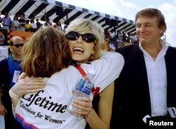 Tư liệu - Marla Maples và Donald Trump