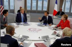 Čelnici samita G7