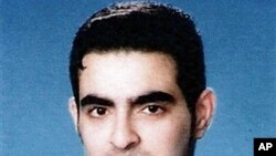 Undated ID picture obtained by AFP on 7 Jan 2010 shows Jordanian Humam Khalil Abu-Mulal al-Balawi, who was said to be a triple agent