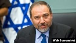 İsrailin xarici işlər naziri Aviqdor Liberman