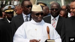 Madaxweynaha Talada haya Yahya Jammeh