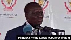 Le nouveau Premier ministre Sylvestre Ilunga Ilunkamba, Kinshasa, 20 mai 2019. (Twitter/Corneille Lubaki)