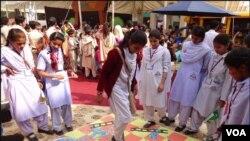 بچوں کے ادبی میلے میں بچوں نے کھیل ہی کھیل میں بہت کچھ سیکھا