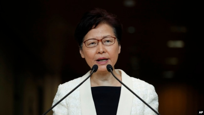 林郑月娥否认向北京请辞 称有信心带队走出困境
