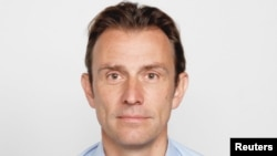 BBC correspondent Rupert Wingfield-Hayes