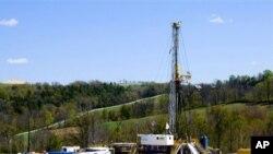 美国切萨皮克能源公司的天然气井