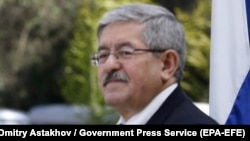 ALGERIA -- Algerian Prime Minister Ahmed Ouyahia