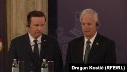 Сенаторы США Крис Мерфи и Рон Джонсон