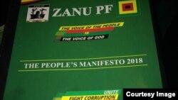Manifesto yeZanu PF