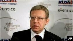 俄罗斯财政部长库德林(资料照)