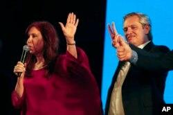 La gran protagonista de estas elecciones generales fue la expresidenta y senadora Cristina Fernández de Kirchner, compañera de boleta del presidente electo.