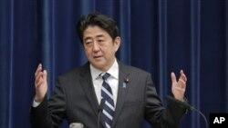 Perdana Menteri Jepang, Shinzo Ane (Foto: dok).