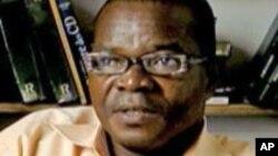 Marc Ona, secrétaire exécutif de l'ONG Brainforest au Gabon