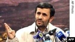 احمدی نژاد فرارسیدن ضرب الاجل آمریکا برای پذیرفتن قرارداد ارسال سوخت به خارج را مردود دانست